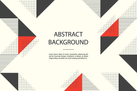 abstract background with geometric shapes. Vector Illustratie