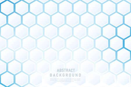 Modern background with hexagonal. Иллюстрация