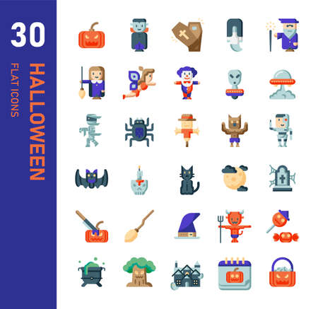 halloween icon for website, application, printing, document, poster design, etc.