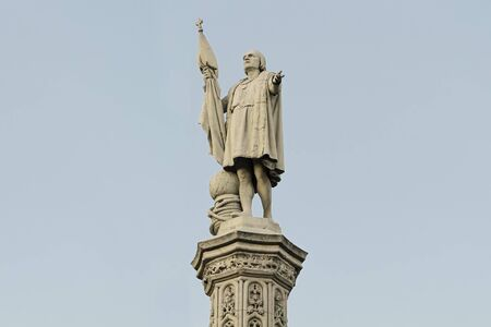 Christopher Columbus in Madrid, Spain Stock Photo - 17155815