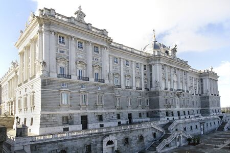 Royal Palace in Madrid, Spain Stock Photo - 17298239