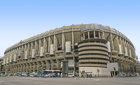 Santiago Bernabeu, Stadium of Real Madrid Stock Photo - 17713460