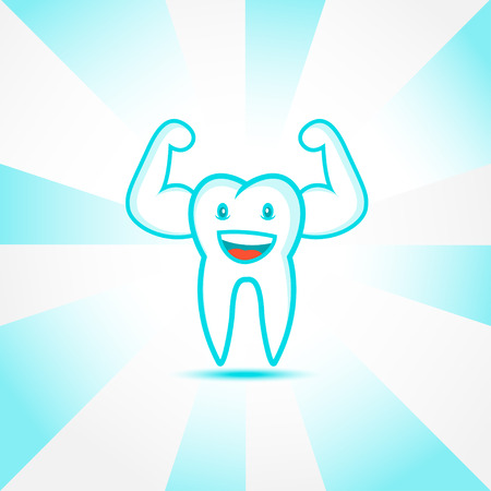 braces: Smiling tooth