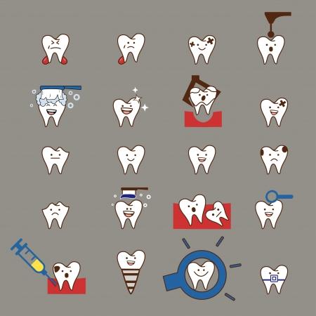 pediatric: Teeth treatment set