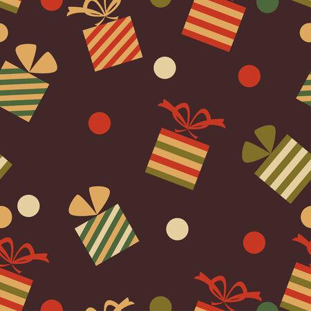 Presents seamless pattern Vector