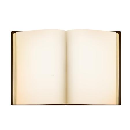 화이트 페이지와 함께 멋진 책 화이트 그림