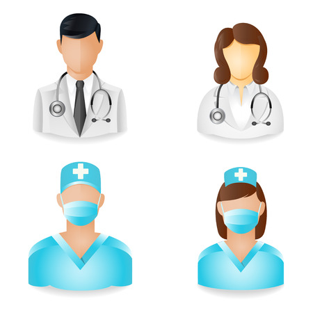 People Icons - Medical Vector