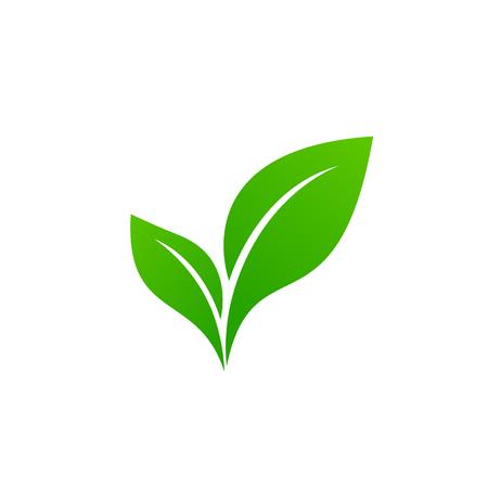 Landschaftsdesign, Garten, Pflanze, Natur und Ökologie-Vektorlogo. Ökologie glückliches Leben Logo-Konzept-Symbol.