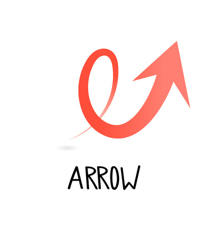 Arrow symbol for your web site design, logo, app, UI