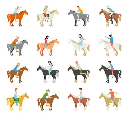 Horse racing ,Horse with jockey,graphic vector. 向量圖像