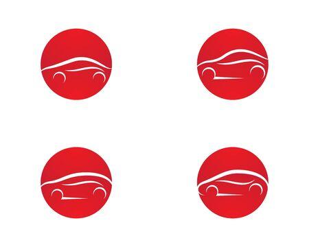 Auto car template vector icon illustration design