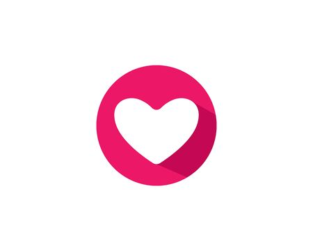 Love logo template symbol icon illustration design