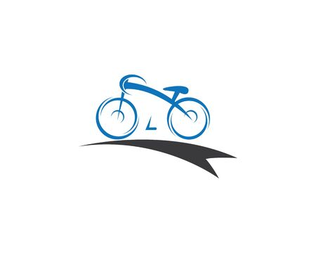 Bicycle vector icon illustration