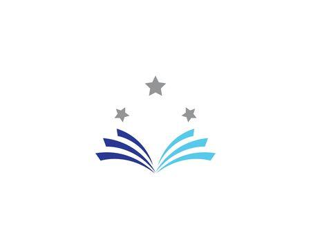 Book logo icon illustration