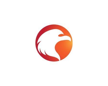 Eagle logo template vector icon illustration design
