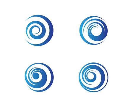 Circle logo template vector icon illustration design
