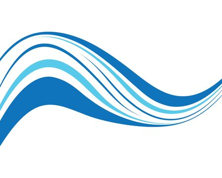 Water wave texture bacground vector illustration