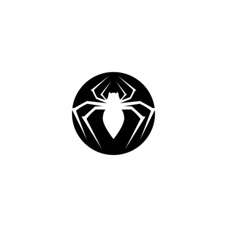 Spider logo icon illustration design