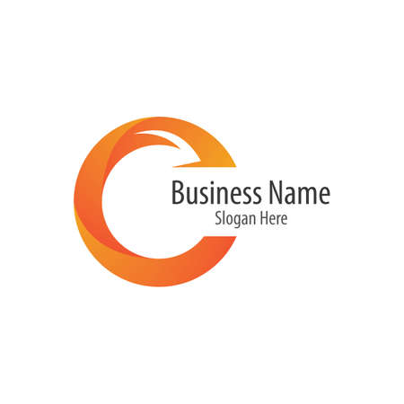 C letter logo vector icon illustration design