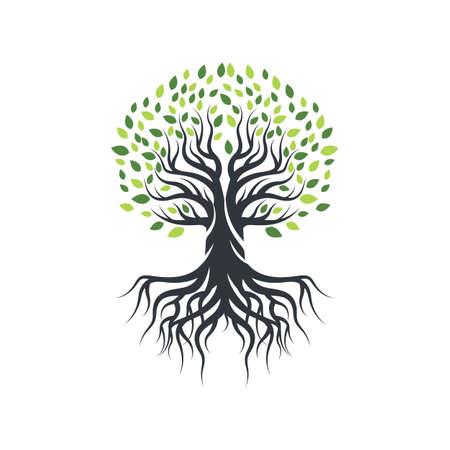 Tree icon logo template vector icon design