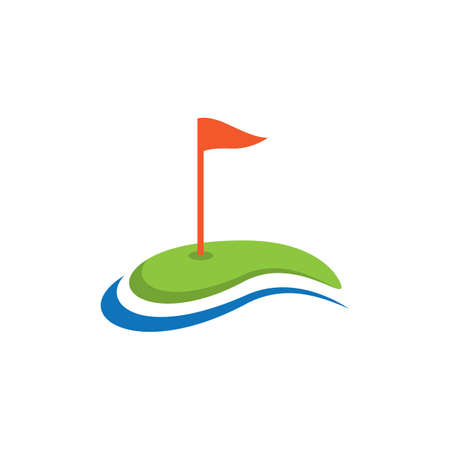 Golf  logo template vector icon design