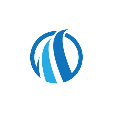 Abstract logo template vector icon design