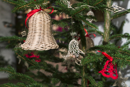 creche: Little Bethlehem of ceramics, three-piece. handmade
