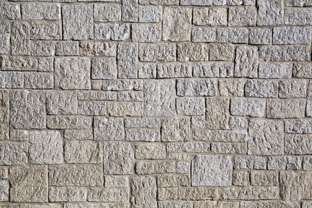 stone wall: stone wall, regularly inlaid granite stones