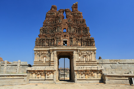 karnataka: Vittalla temple in Hampi, Karnataka, India Stock Photo