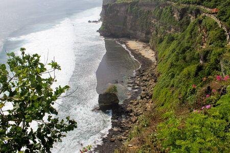 Hidden beach, unreachable by land