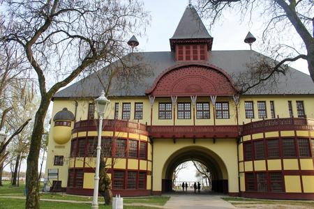 serbia: Amazing architecture at Palic, Serbia Stock Photo