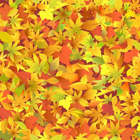 Autumn leaves  Stock Vector - 12808856
