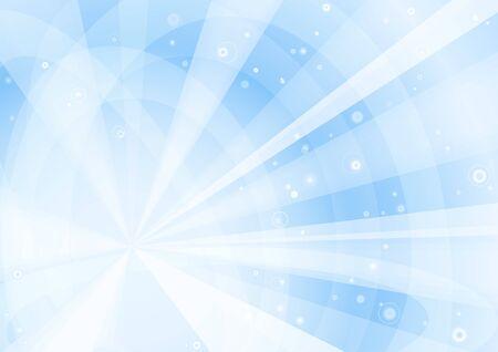 Blue rays Stock Vector - 13217189