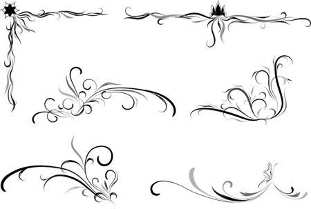 separator: Decorative element for design  Illustration