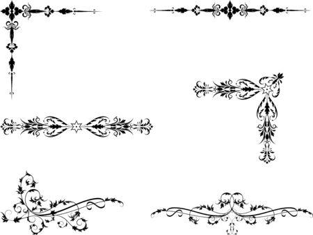 separator: Decorative elements for your design