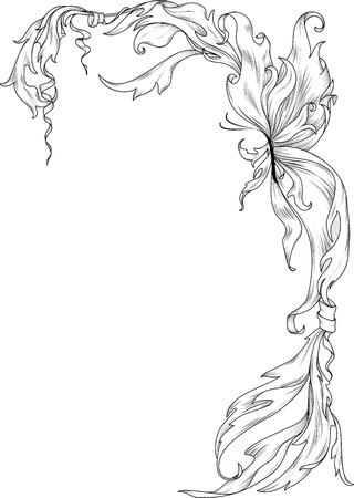gothic style: Fantasy ornament  Illustration