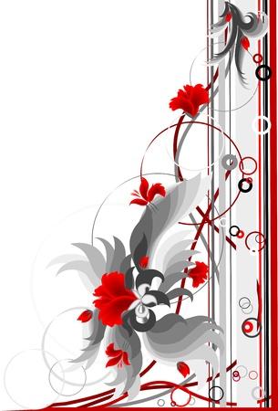 Floral corner Фото со стока - 13217034