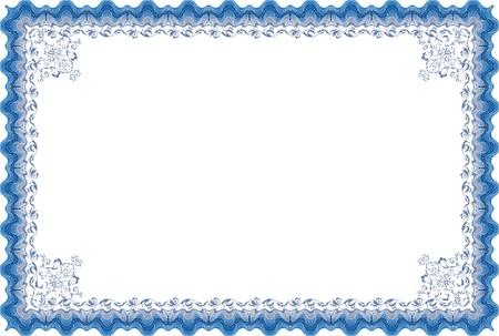 Diploma border Фото со стока - 13217053