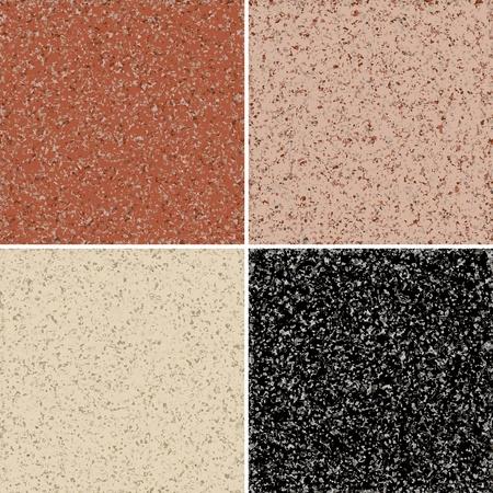 Graniet naadloze achtergrond, verkrijgbaar in 4 kleuren Vector Illustratie