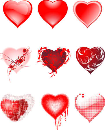 Hearts  Иллюстрация
