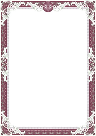 Frame for diploma or certificate
