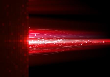phosphorescence: Red lightning