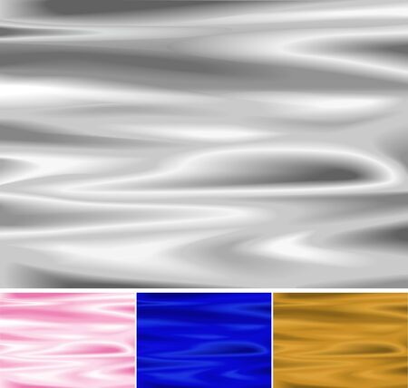 silver silk: Texture of silk or liquids  Available in 4 colors