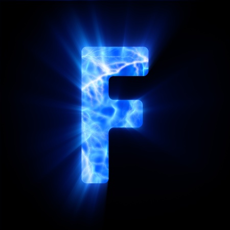 Plasma font  F