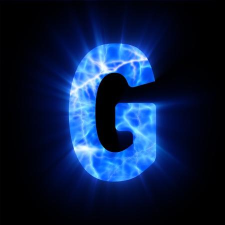 Plasma font  G