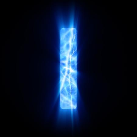 Plasma font  I  photo