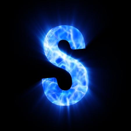 Plasma font  S