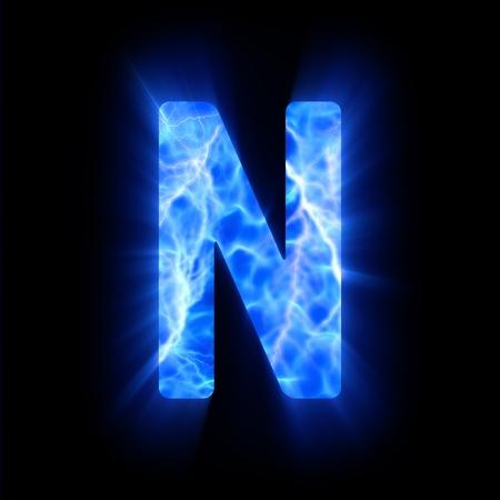 Plasma font  N
