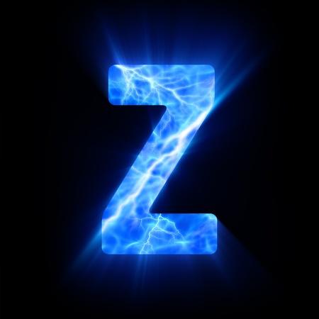 Plasma font  Z Фото со стока - 13323586