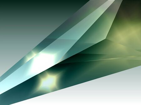 Crystal.  Abstract structure background. Vector